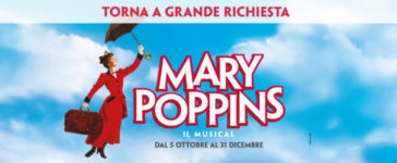 Mary Poppins – Il Musical torna in scena.