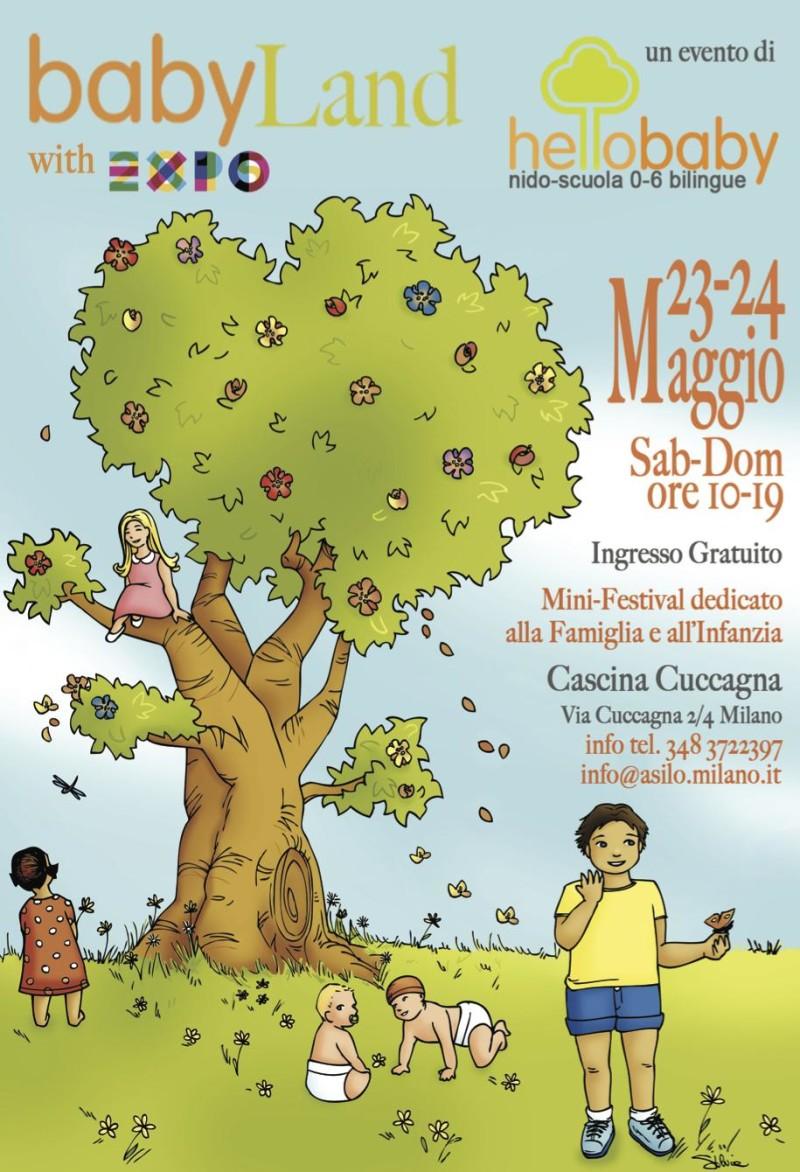 Baby land torna a milano il 23 e 24 maggio cascina cuccagna for La cascina cuccagna milano