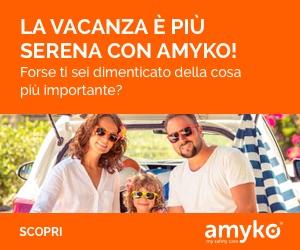 In viaggio con Amyko, per passare le tue vacanze in sicurezza!
