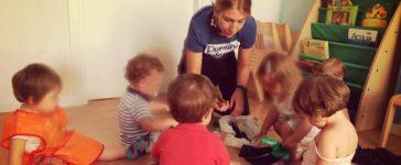 Un Puntino Colorato in citta', uno spazio per bimbi da 2 a 6 anni.