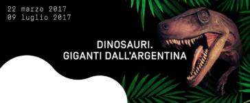 Arrivano al MUDEC i Dinosauri Giganti dall'Argentina (22 Marzo – 9 Luglio)