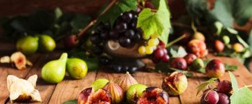 La spesa di settembre…uva e fichi per addolcire queste giornate di rientro